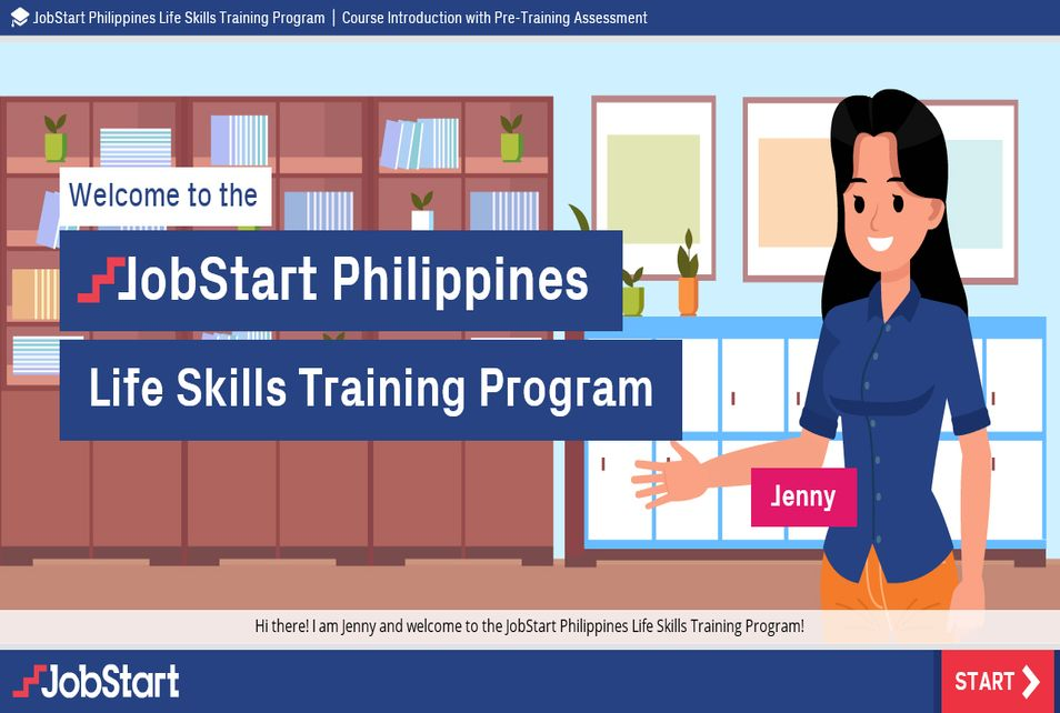 JobStart Life Skills Training - English