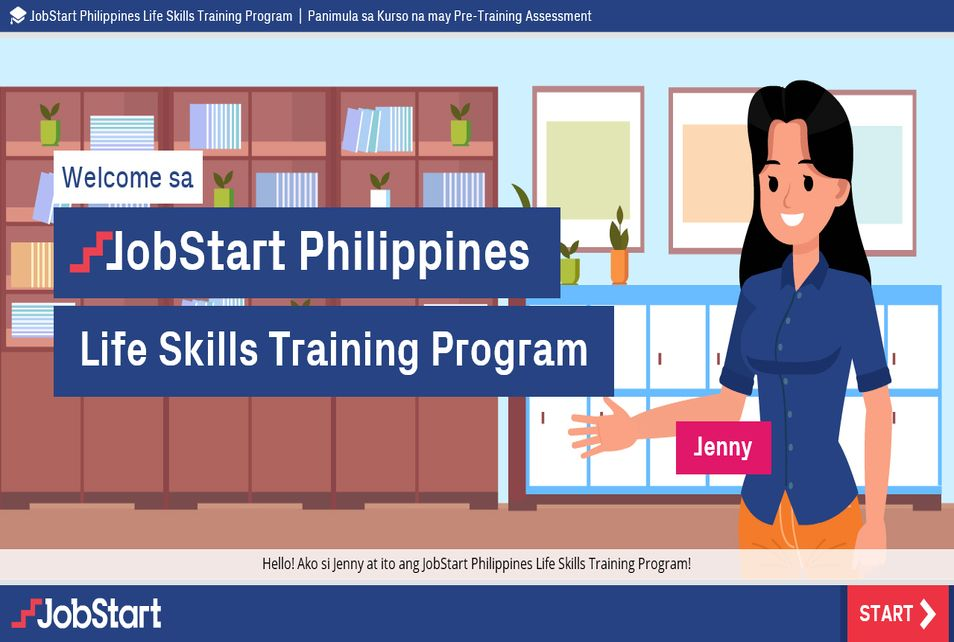 JobStart Life Skills Training - Filipino